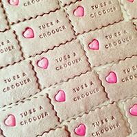 Serenity Biscuits, biscuits personnalisés