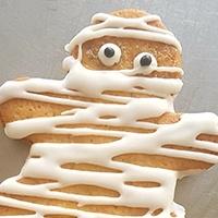 Serenity Biscuits, biscuit bonhomme Halloween