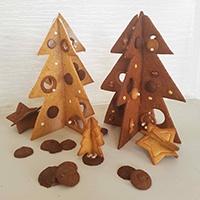 Serenity Biscuits, sapins de Noël en biscuit